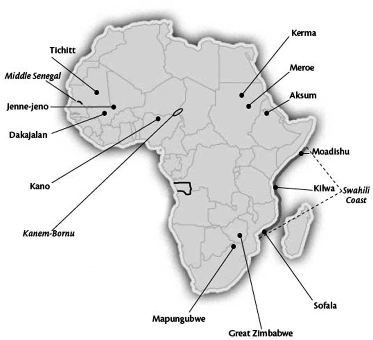 Different cities: Jenne jeno and African urbanism (Chapter 17