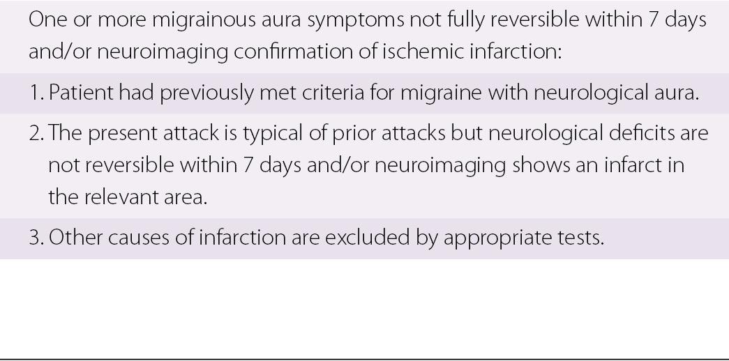 Migraine (Chapter 12) - Vertebrobasilar Ischemia and Hemorrhage