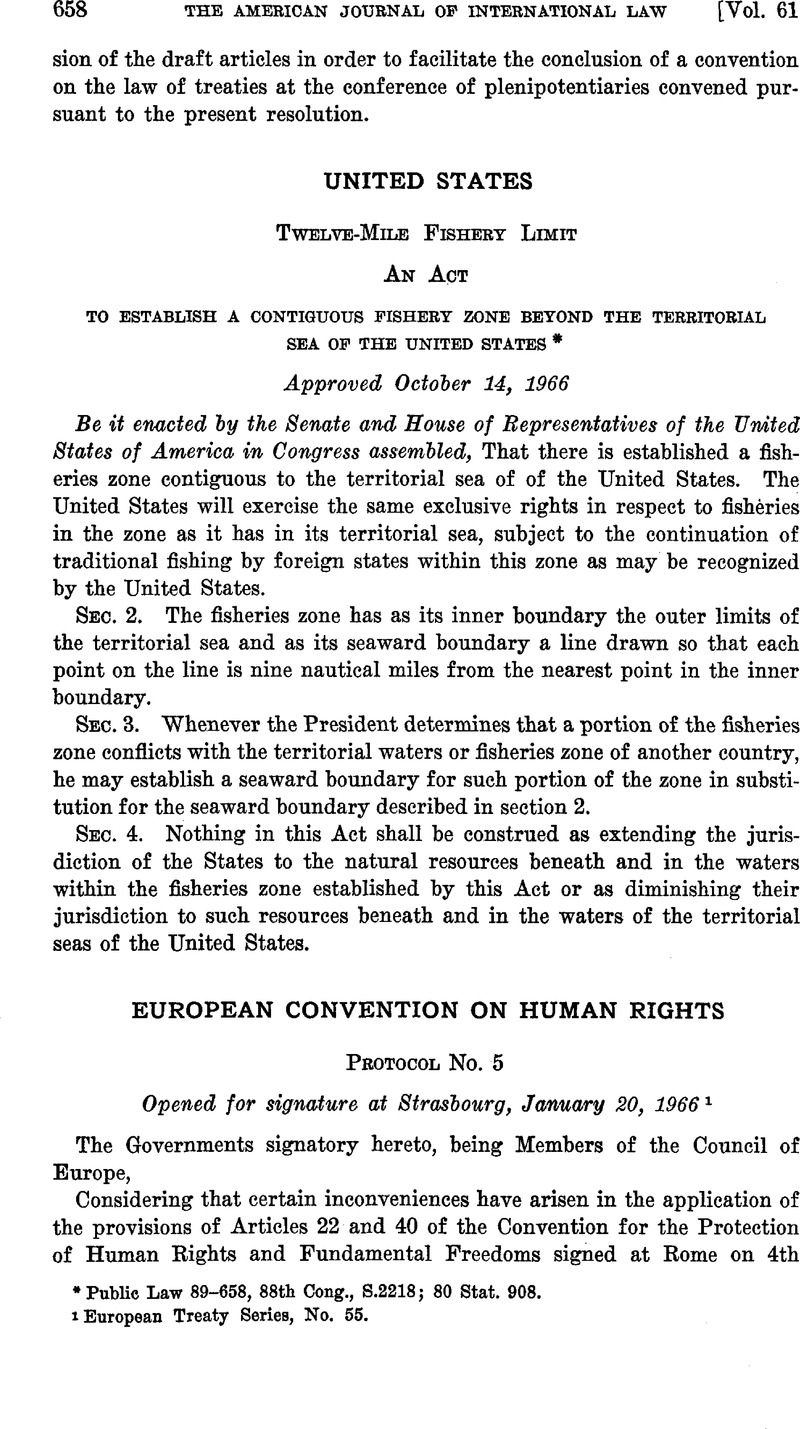 Human rights: a selection of articles