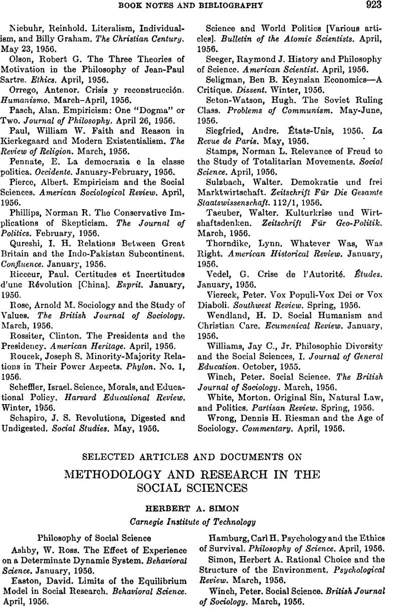 contents of methodology in research paper