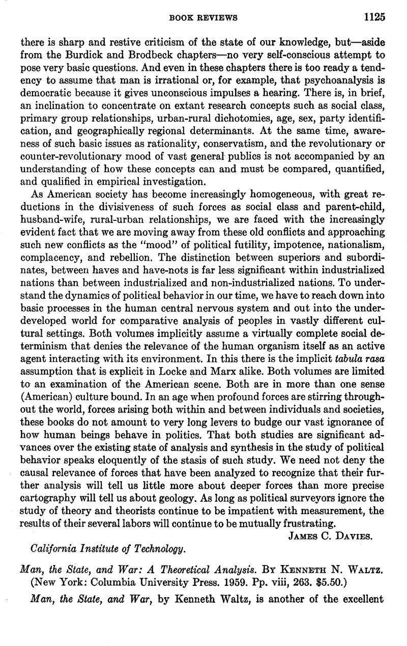 levels of analysis kenneth waltz International relations, or the relationships and interactions between different nations and ethnicities, is inherently complex, both in practice and as an academic discipline since the publication of kenneth waltz's man, the state, and war in 1959, scholars and diplomats have found it useful to.