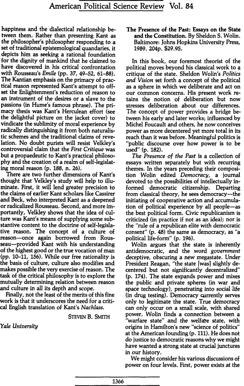 Interesting Persuasive Essay Topics For High School Students The Presence Of The Past Essays On The State And The Constitution By  Sheldon S Wolin Baltimore Johns Hopkins University Press  P   Thesis In A Essay also English Essay Ideas The Presence Of The Past Essays On The State And The Constitution  Christmas Essay In English