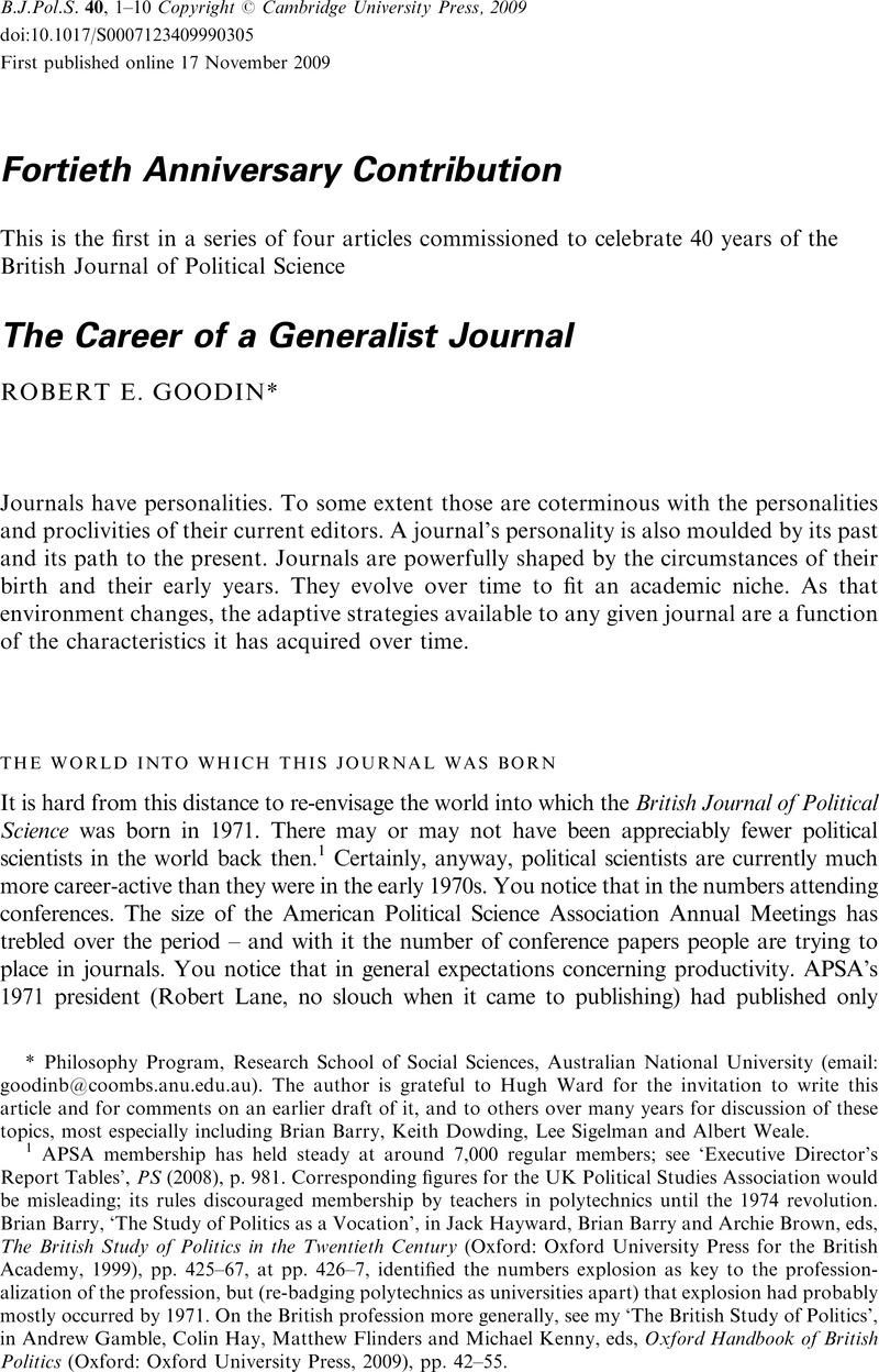 the oxford h andbook of political science goodin robert e