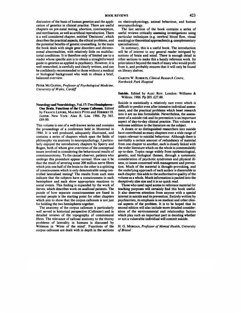 Neurology and Neurobiology, Vol. 17: Two Hemispheres-One Brain ...