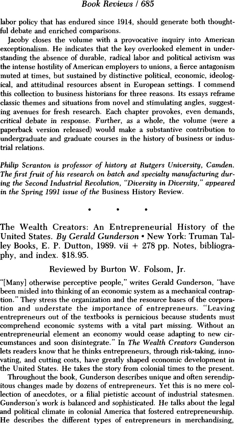 the wealth creators an entrepreneurial history of the united states rh cambridge org