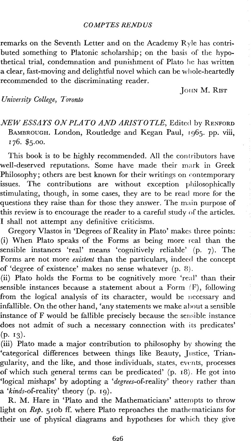 New Essays On Plato And Aristotle Edited By Renford Bambrough  New Essays On Plato And Aristotle Edited By Renford Bambrough London  Routledge And Kegan Paul  Pp Viii   Thesis Statement For An Essay also Should The Government Provide Health Care Essay  Definition Essay Paper