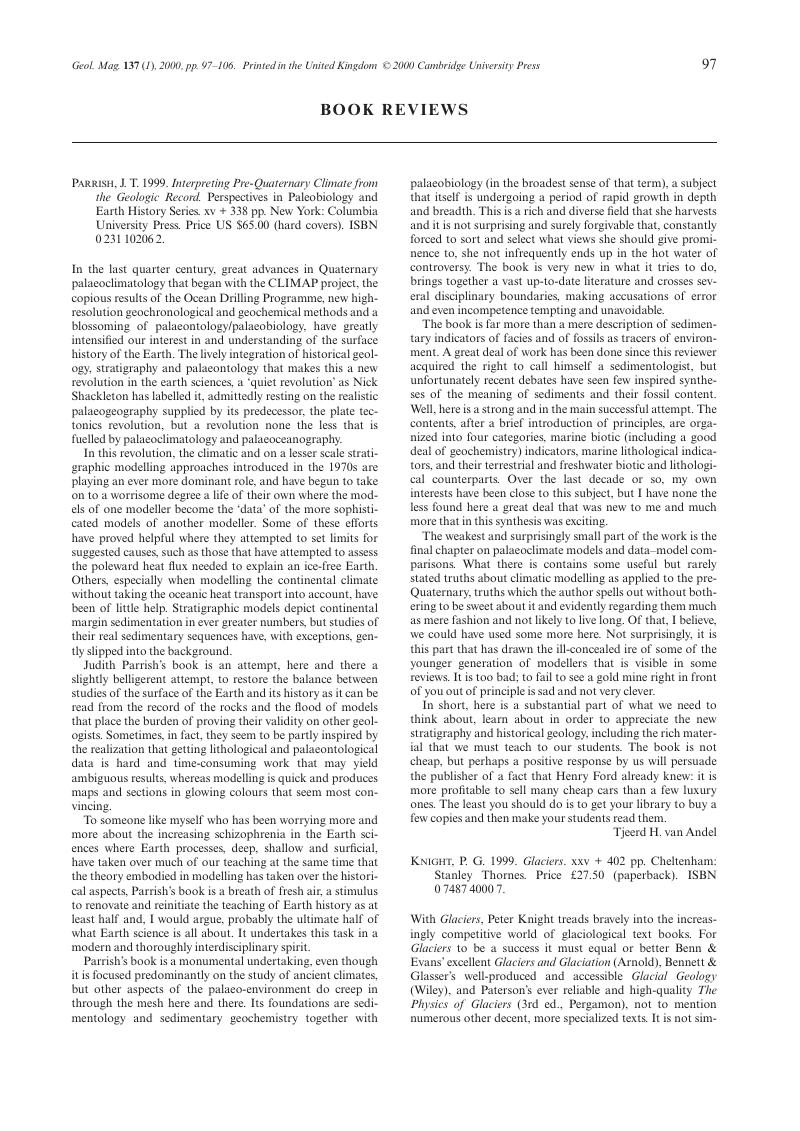 Knight p g 1999 glaciers xxv 402 pp cheltenham stanley captcha fandeluxe Gallery