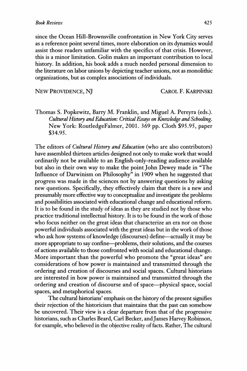 Essay Examples For High School Thomas S Popkewitz Barry M Franklin And Miguel A Pereyra Eds  Cultural History And Education Critical Essays On Knowledge And Schooling Critical Analysis Essay Example Paper also Private High School Admission Essay Examples Thomas S Popkewitz Barry M Franklin And Miguel A Pereyra Eds  Research Paper Essay Example