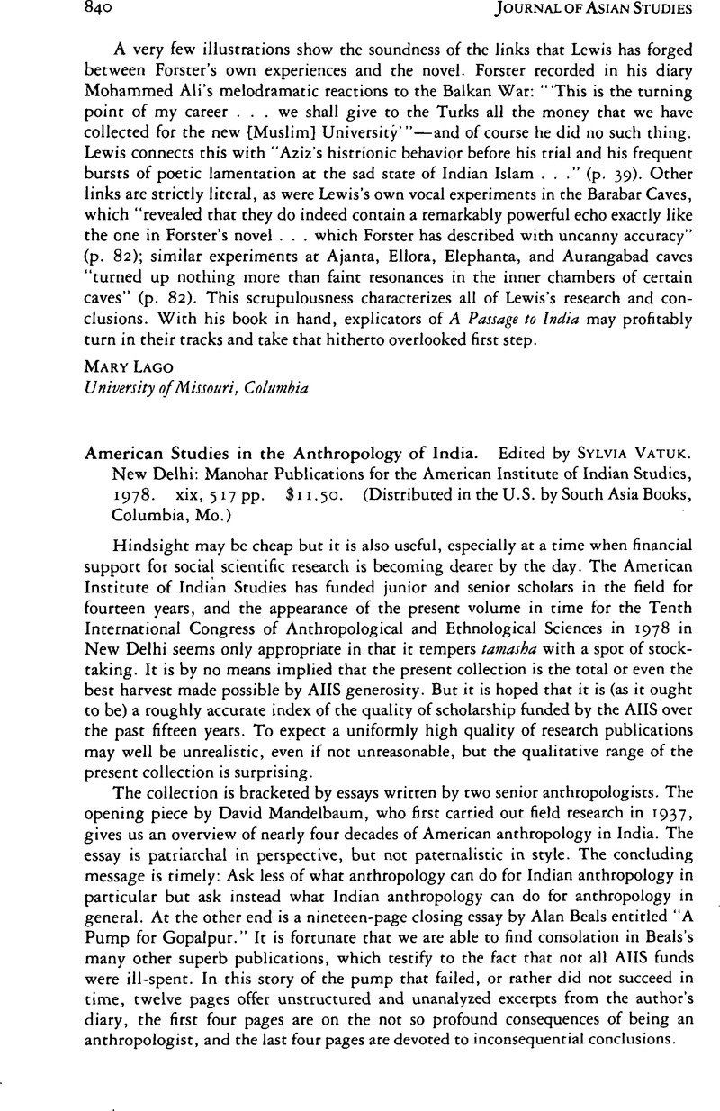 indian anthropologist journal