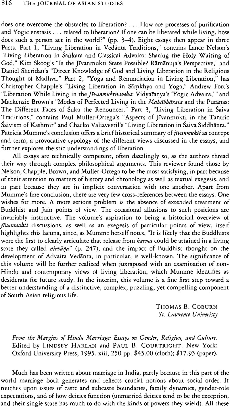 Starting A Business Essay From The Margins Of Hindu Marriage Essays On Gender Religion And Culture  Edited By Lindsey Harlan And Paul B Courtright New York Oxford  University  Buy Custom Essay Papers also Sample Of Proposal Essay From The Margins Of Hindu Marriage Essays On Gender Religion And  Research Paper Essays