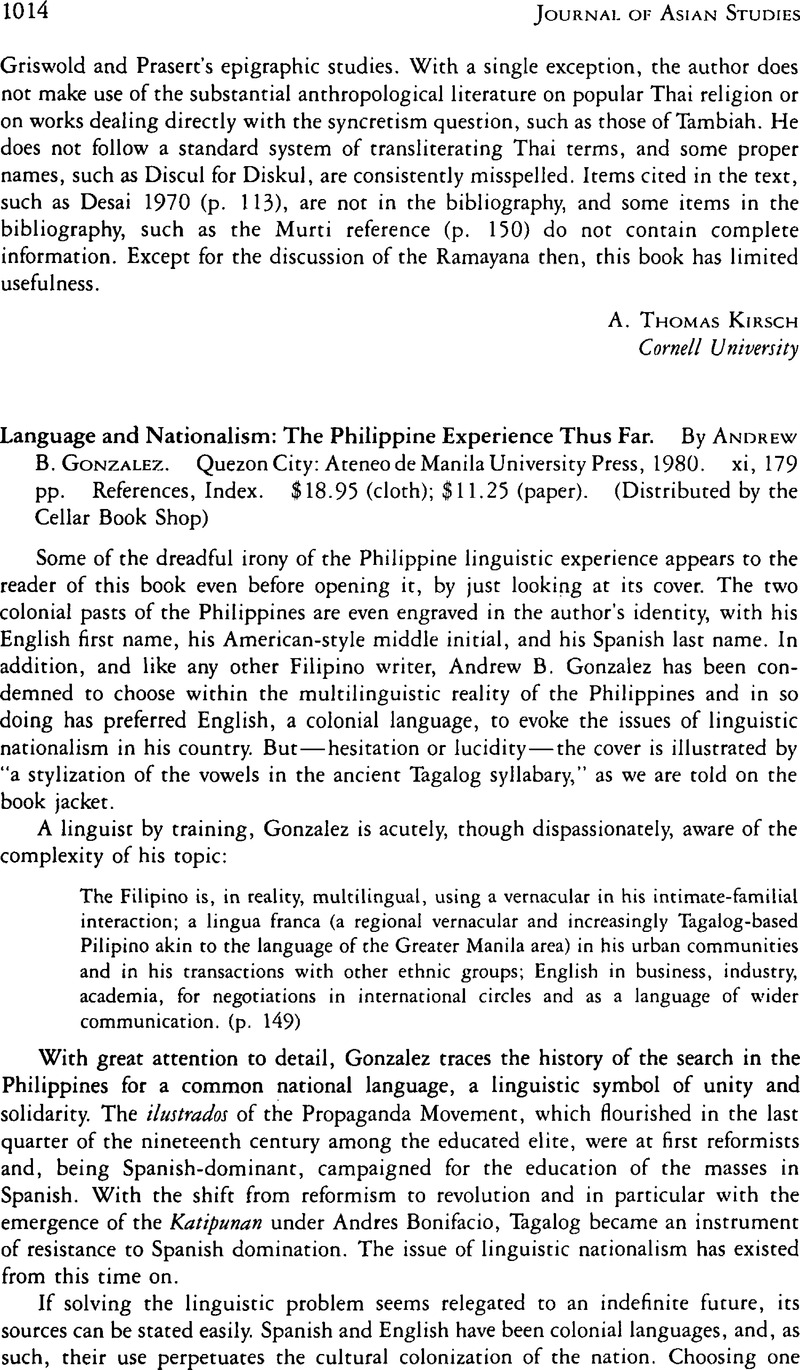 article about english language in the philippines