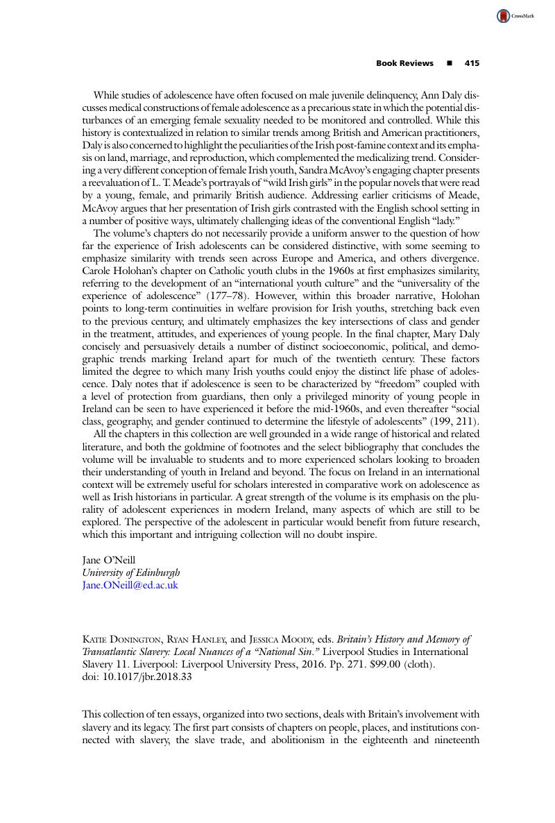Persuasive Essay Thesis Examples Katie Donington  Ryan Hanley  And Jessica Moody  Eds Britains History  And Memory Of Transatlantic Slavery Local Nuances Of A National Sin Critical Essay Thesis Statement also Essay Paper Writing Services Katie Donington  Ryan Hanley  And Jessica Moody  Eds Britains  Process Essay Example Paper