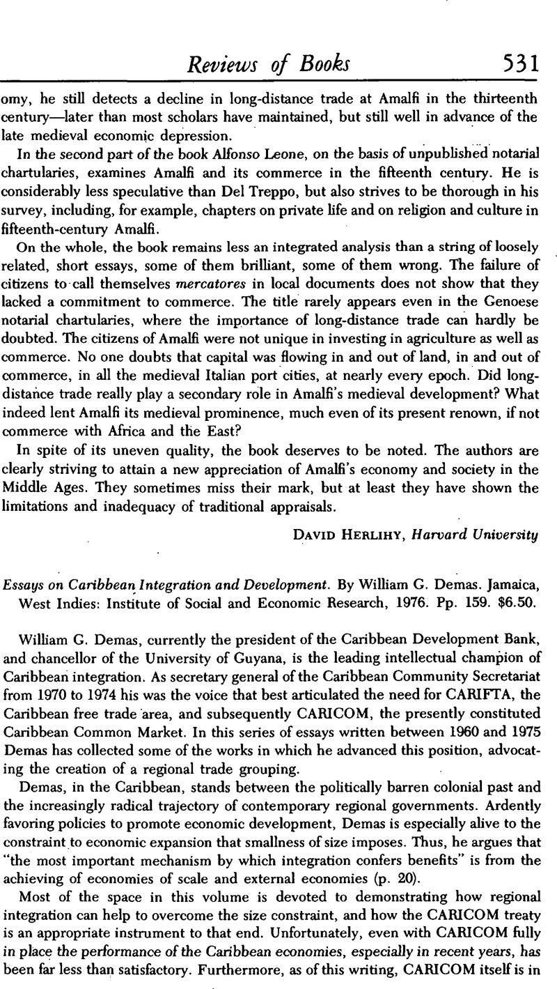 Essays On Caribbean Integration And Development By William G Demas  Captcha