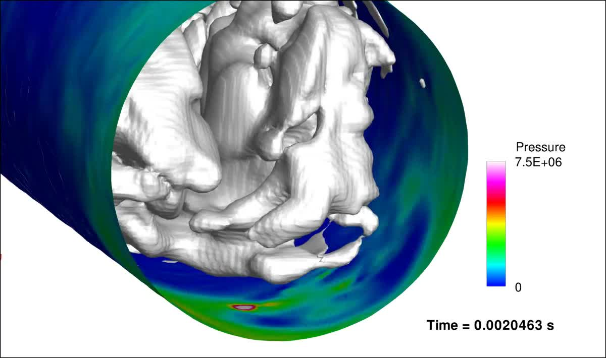 Quantitative predictions of cavitation presence and erosion