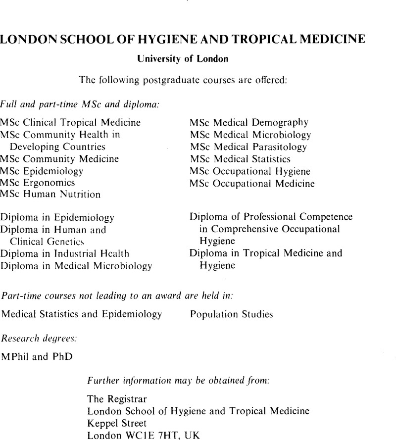 a article on hygiene