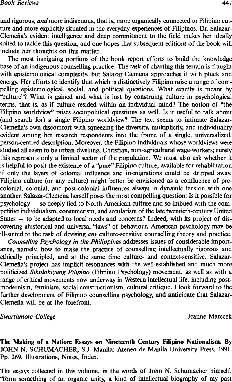 6th Grade Persuasive Essay Examples Philippines  The Making Of A Nation Essays On Nineteenth Century Filipino  Nationalism By John N Schumacher Sj Manila Ateneo De Manila  University  Environmental Issues Essay also My Community Essay Philippines  The Making Of A Nation Essays On Nineteenth Century  Techniques Of Essay Writing