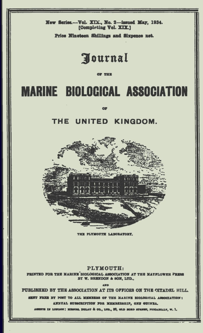 MBI volume 19 issue 2 Cover and Front matter | Journal of the Marine