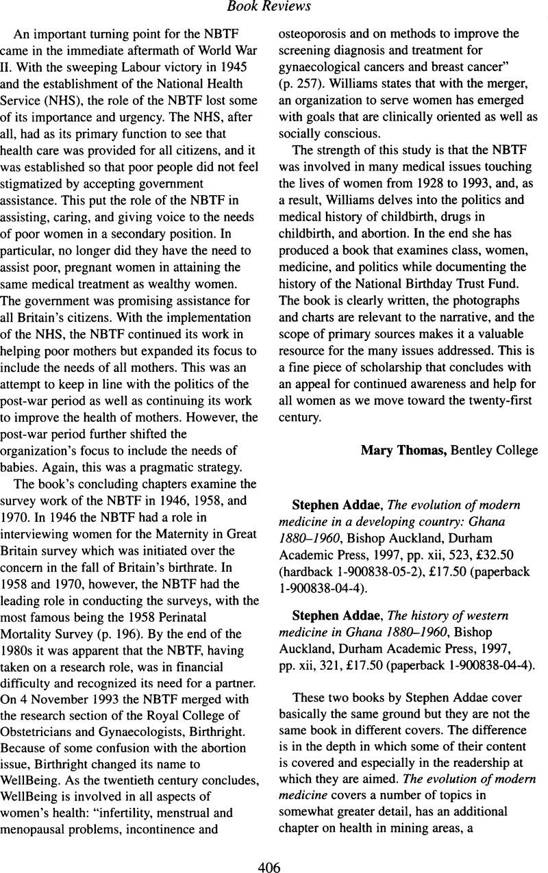 Stephen Addae, The evolution of modern medicine in a