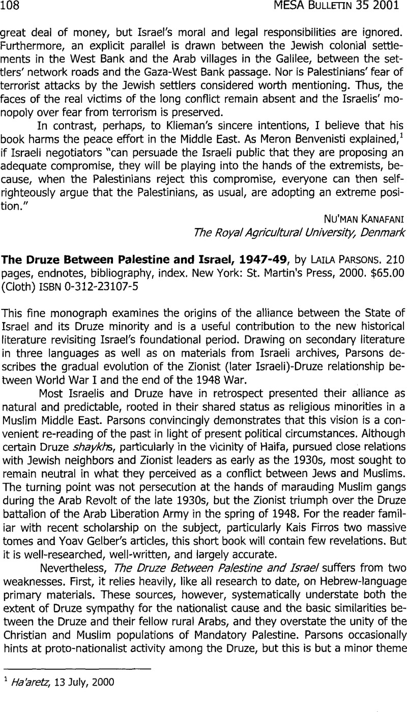 The druze between palestine and israel 194749 by laila parsons the druze between palestine and israel 194749 by laila parsons 210 pages endnotes bibliography index new york st martins press 2000 publicscrutiny Image collections