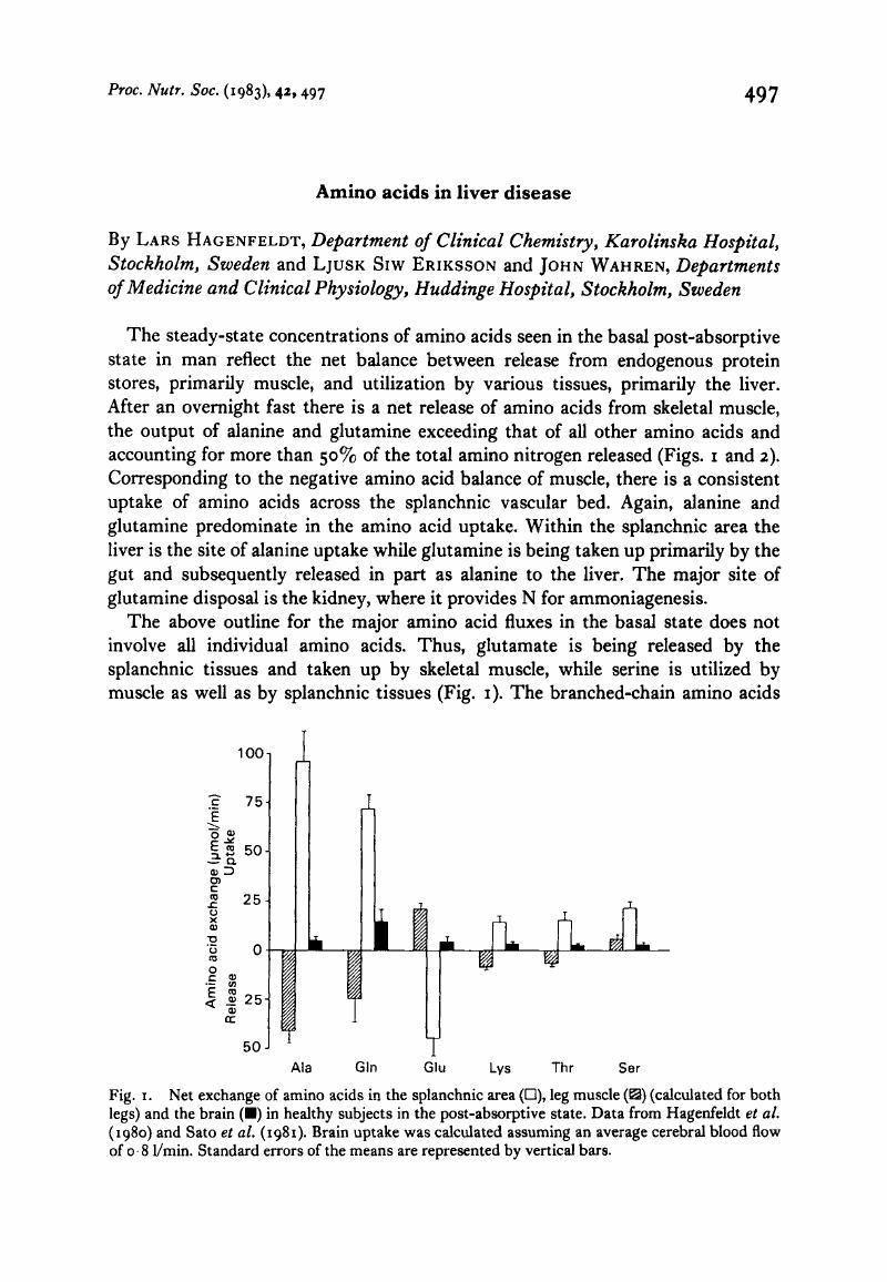 Amino Acid Exchange Abnormalities