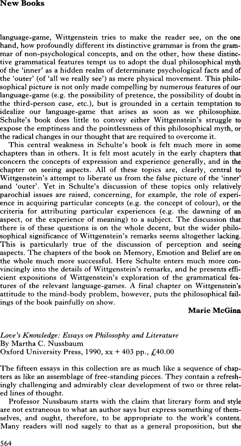 Essay On Modern Science Loves Knowledge Essays On Philosophy And Literature By Martha C Nussbaum  Oxford University Press  Xx   Pp  Important Of English Language Essay also Essays On Health Care Reform Loves Knowledge Essays On Philosophy And Literature By Martha C  Research Essay Topics For High School Students