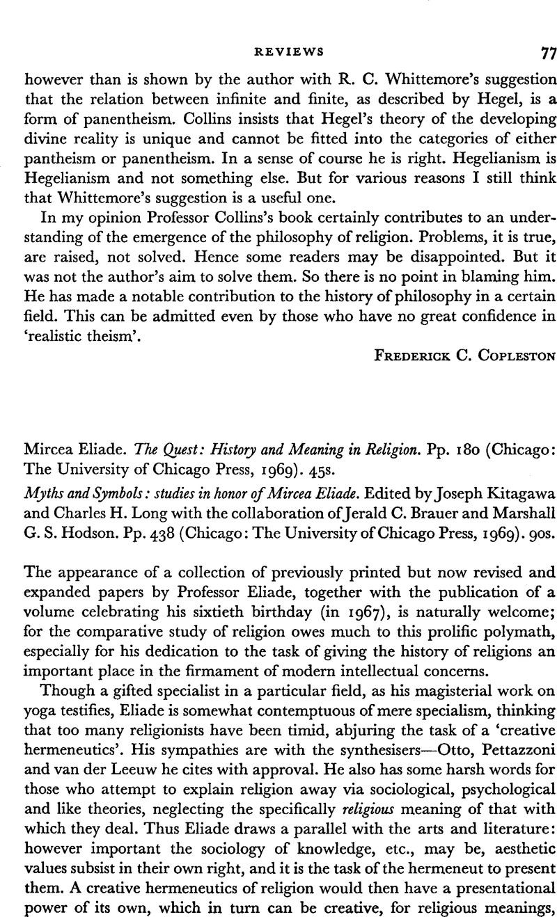 Eliade mircea the quest history and meaning in religion pp 180 captcha buycottarizona