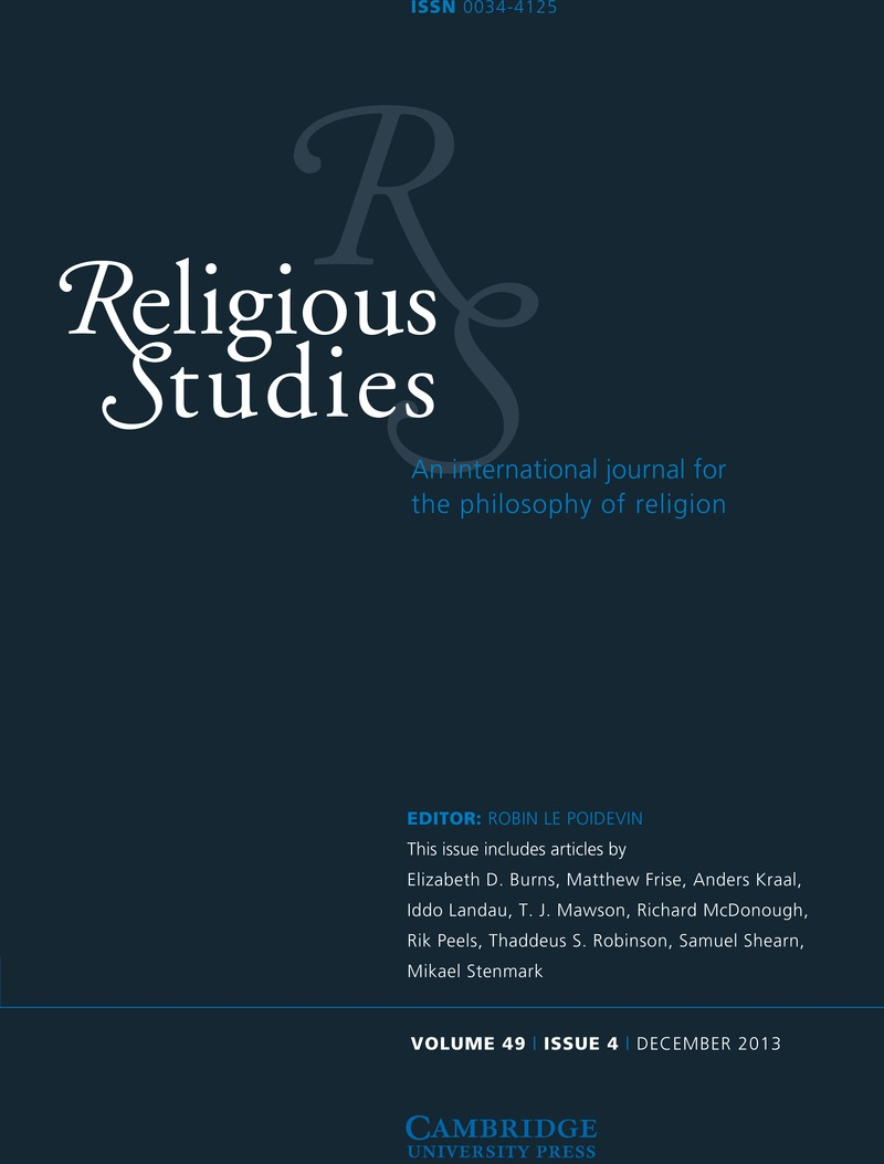 an argument analysis of richard swinburnes the nature of religious experience Free essay: i) analyse the argument for the existence of god from religious experience (18) the argument for the existence of god from religious experience.