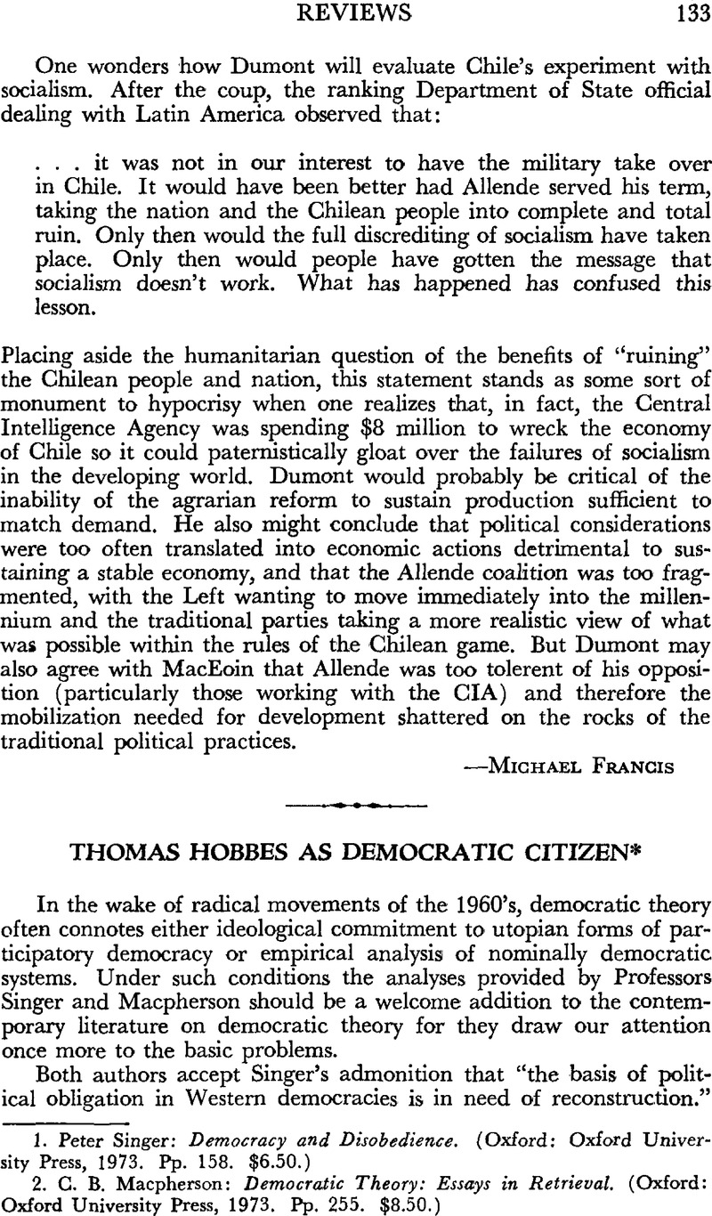 Thomas Hobbes As Democratic Citizen  Peter Singer Democracy And  Captcha
