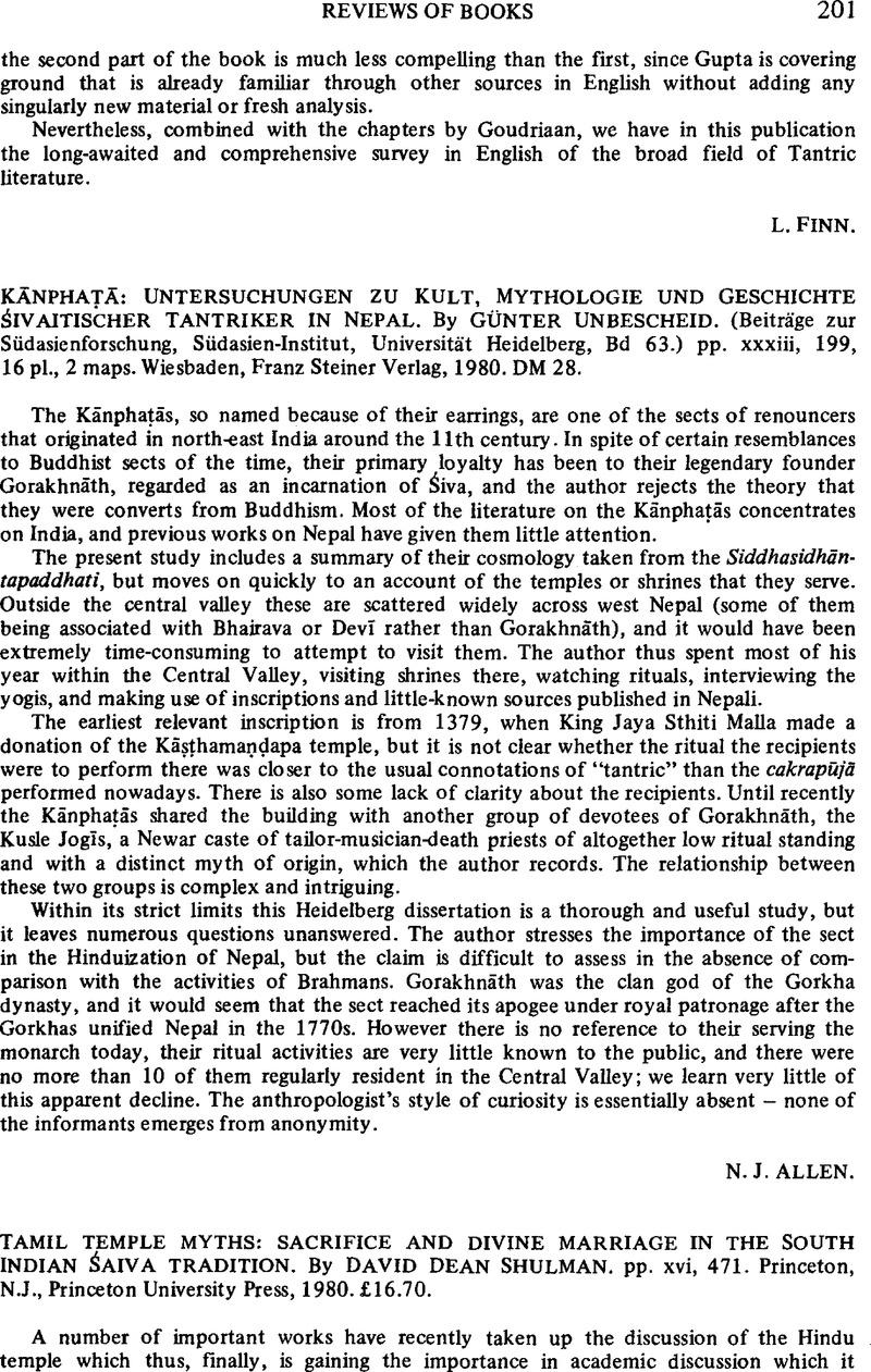 Kānphaṭā: Untersuchungen Zu Kult, Mythologie Und Geschichte