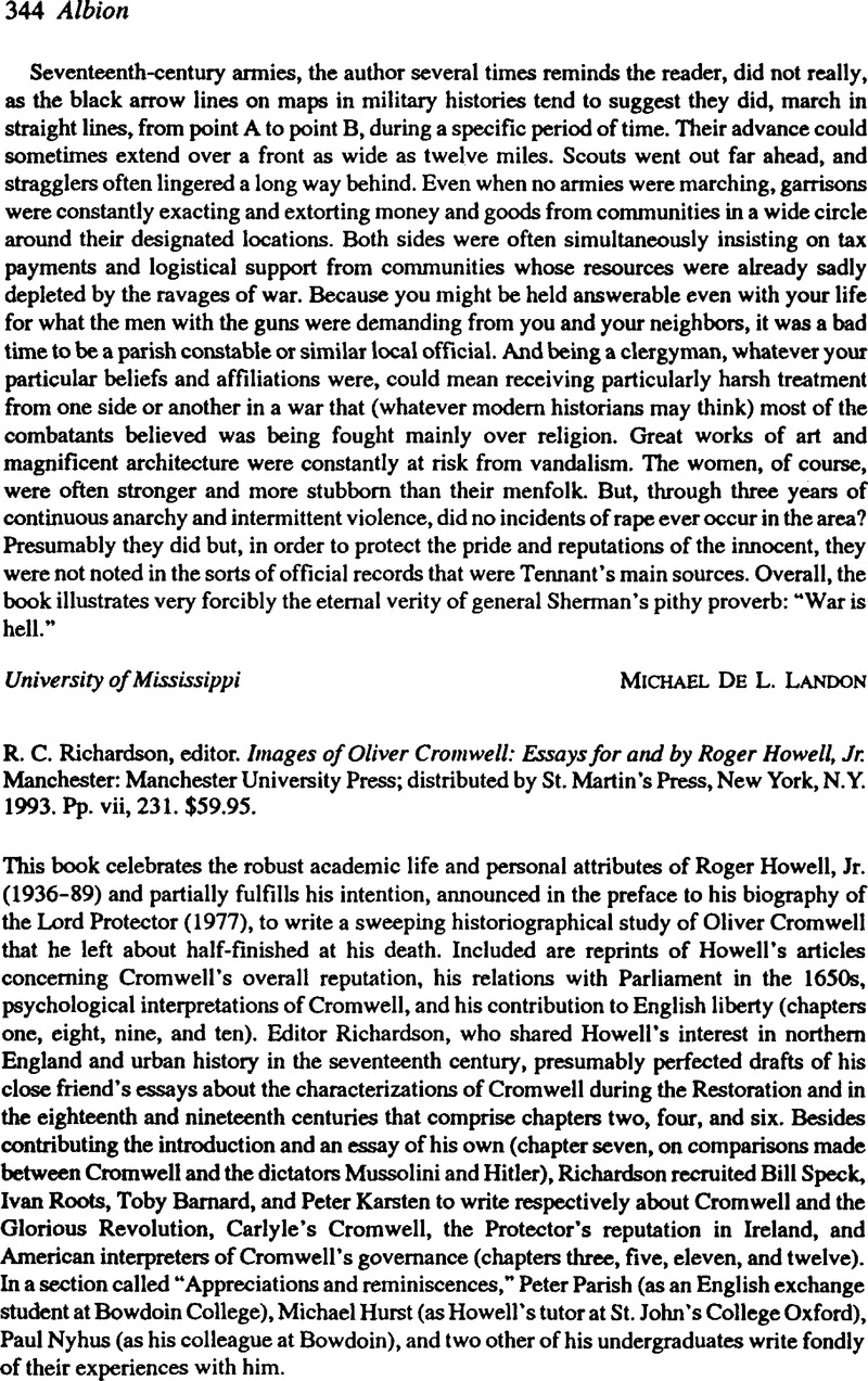 What Is The Thesis Of A Research Essay Captcha  Learning English Essay Example also Thesis Argumentative Essay R C Richardson Editor Images Of Oliver Cromwell Essays For And  Reflection Paper Essay