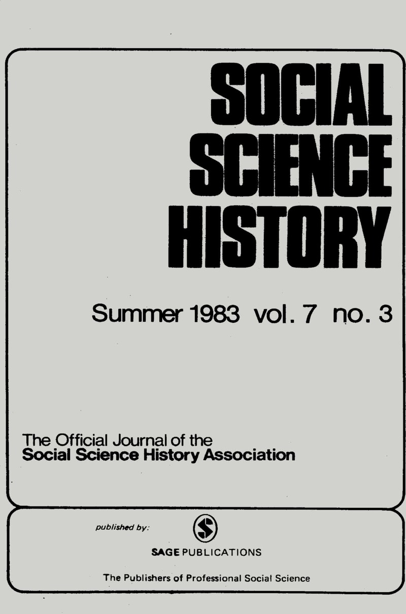 Journal of history and social sciences