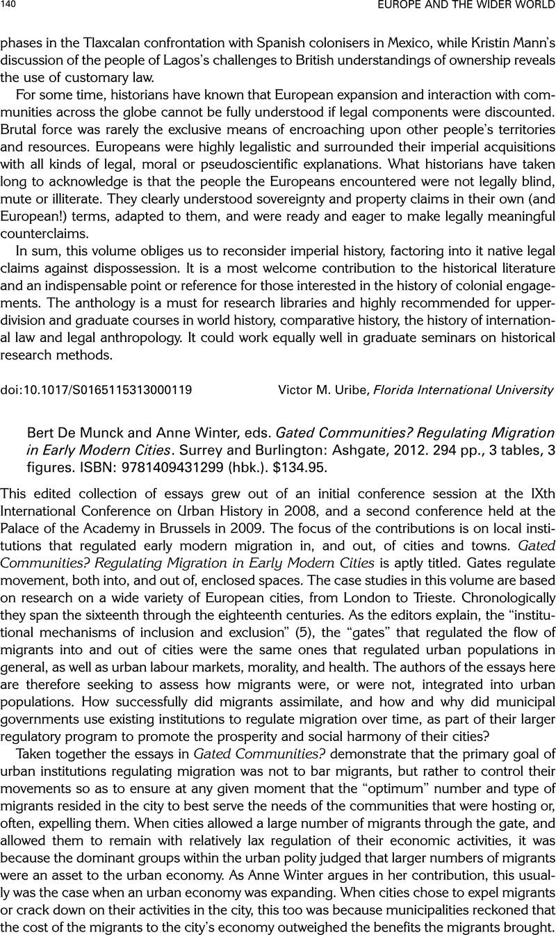 1214d1b6e4b742 Europe and The Wider World - Bert De Munck and Anne Winter