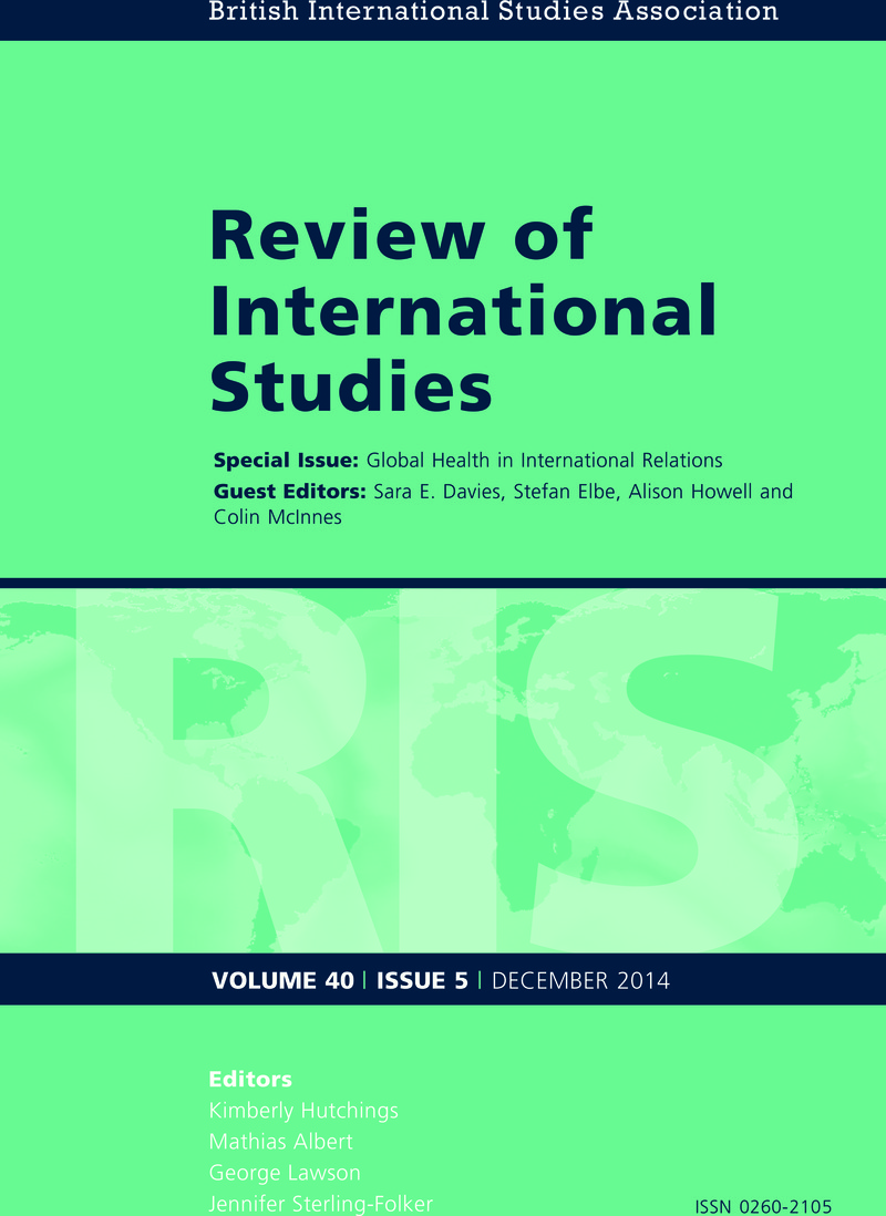 global health and international relations