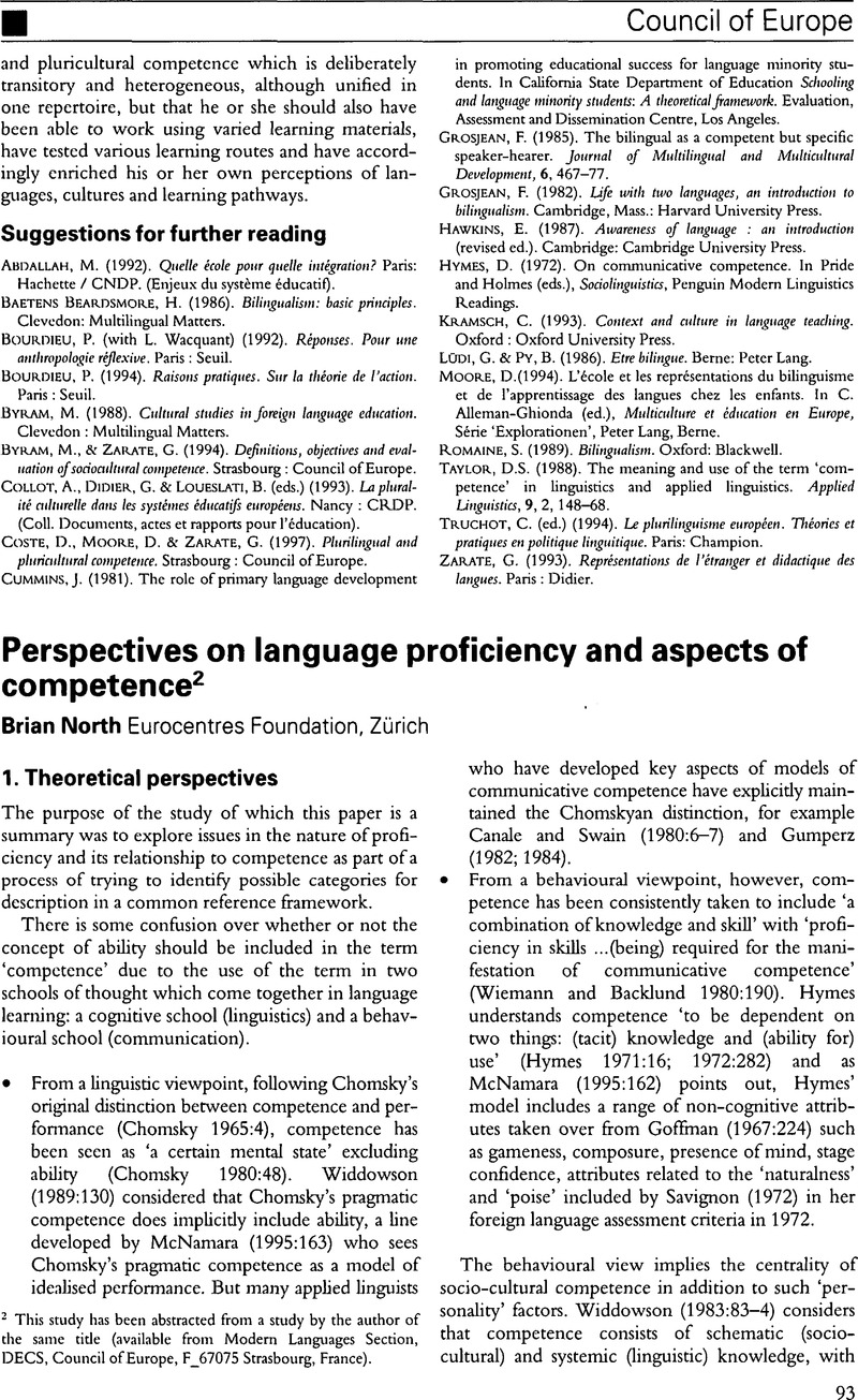 language development and individual differences richards brian j