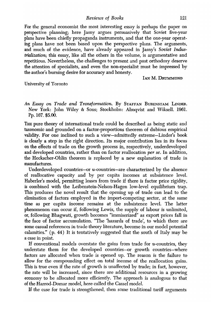 Thesis For Persuasive Essay An Essay On Trade And Transformation By Staffan Burenstam Linder New  York John Wiley  Sons Stockholm Almqvist And Wiksell  Pp    English Essay On Terrorism also Best Essay Topics For High School An Essay On Trade And Transformation By Staffan Burenstam Linder  My Country Sri Lanka Essay English
