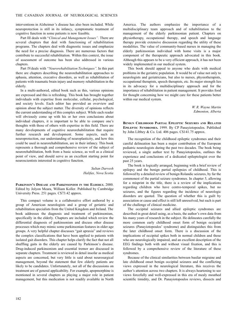 Parkinsons disease and parkinsonism in the elderly 2000 edited by parkinsons disease and parkinsonism in the elderly 2000 edited by jolyon meara william koller published by cambridge university press 251 pages publicscrutiny Choice Image
