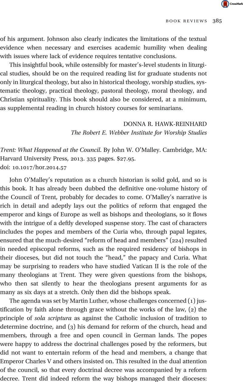 Pages 335 Wiring Library Chrysler Rb1 Diagram Trent What Happened At The Council By John W Omalley