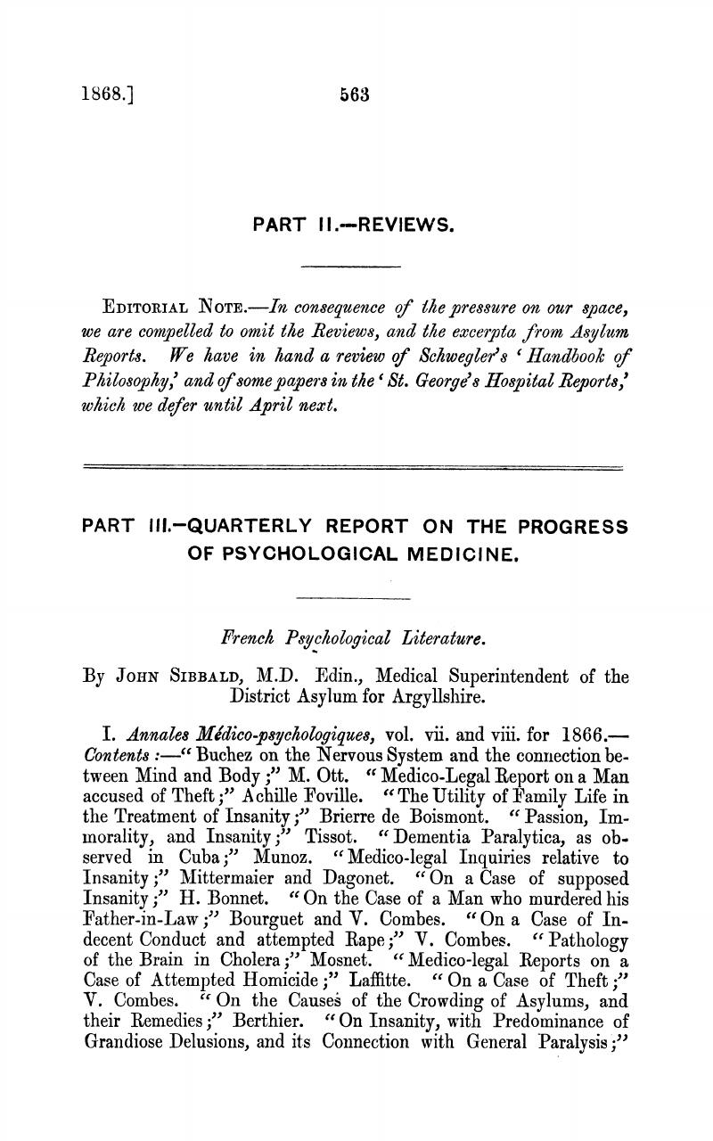 Medical psychology literature: a selection of sites