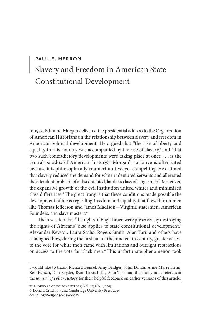 united states constitutional law rodgers paul