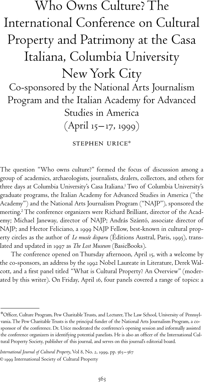 Columbia Arts Journalism