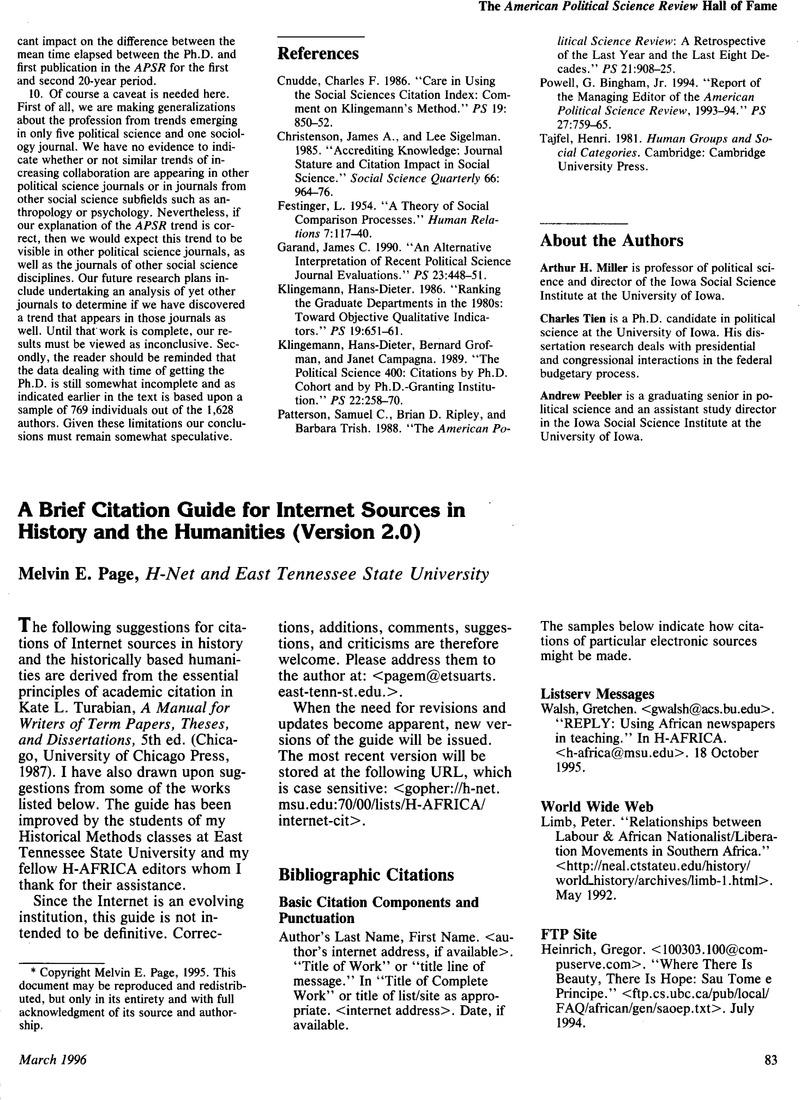 acs citation guide