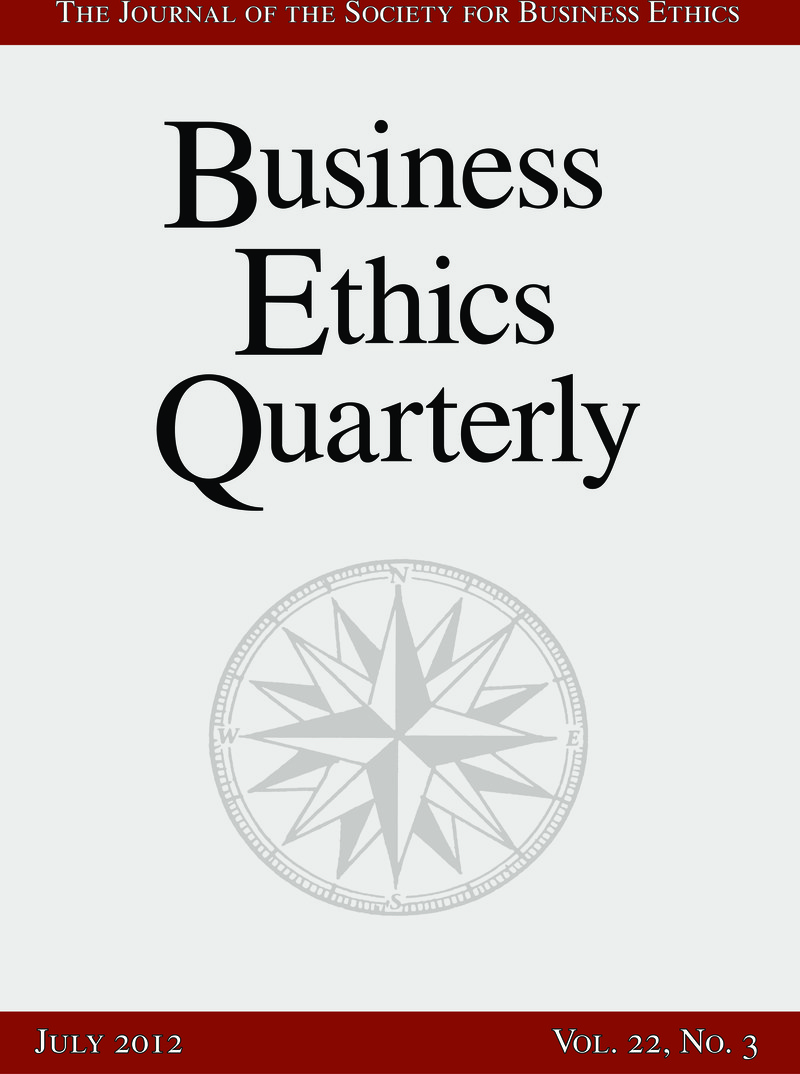 term paper on business ethics