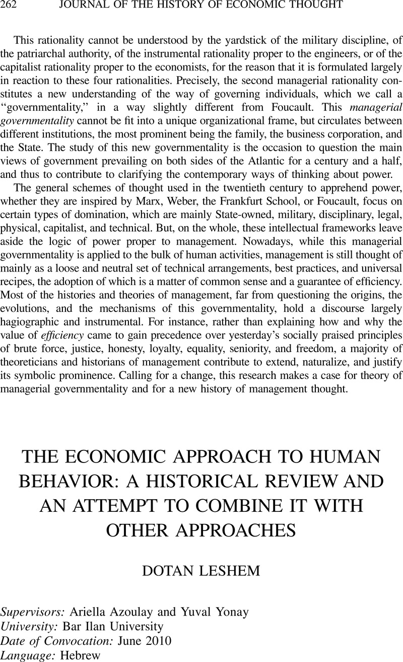 the economic approach to human behavior english edition