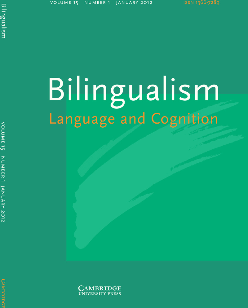 bilingualism Bilingualism: introduces students to key issues and themes that include bilingual development and education and the integration of social and cognitive perspectives.