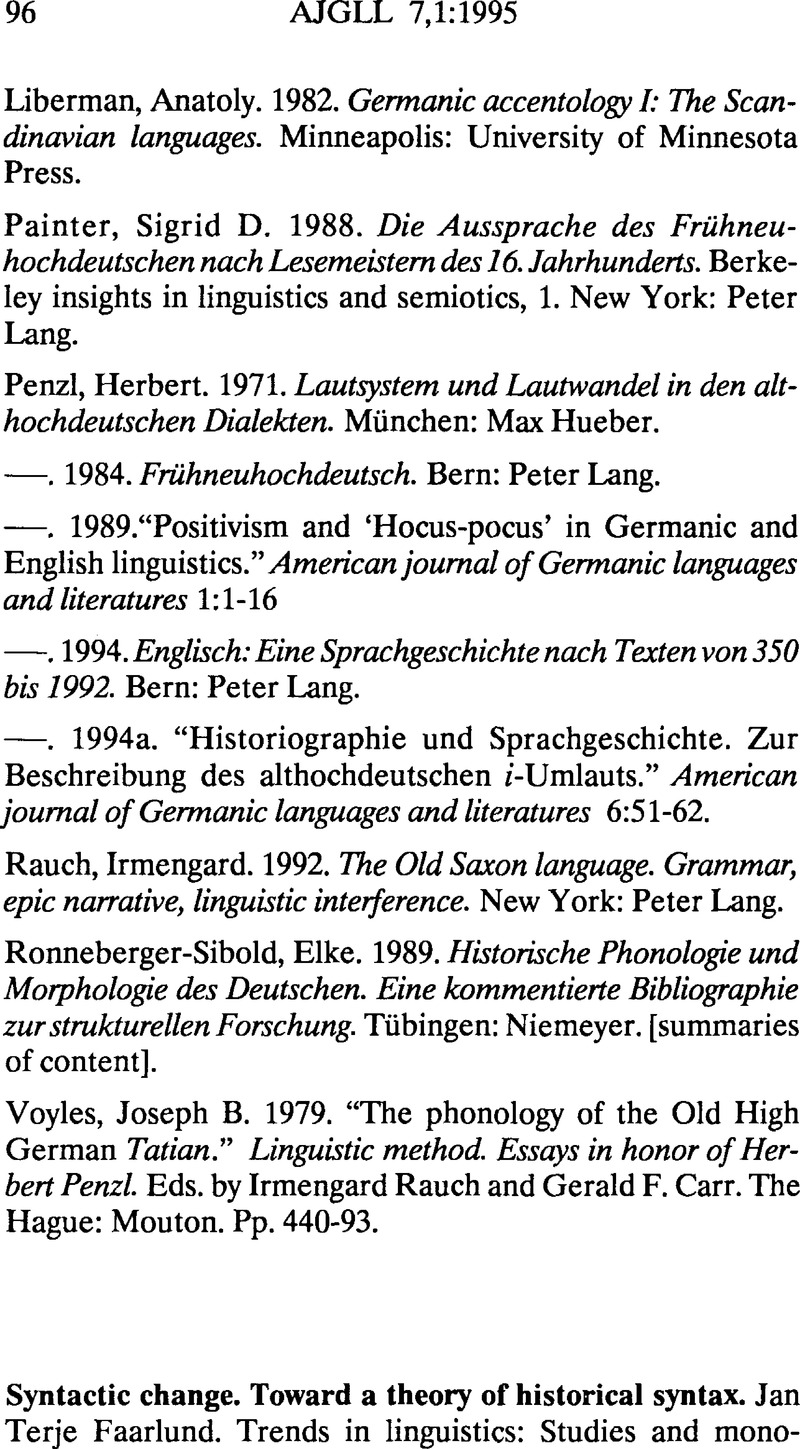 english historical linguistics volume 1 gruyter de