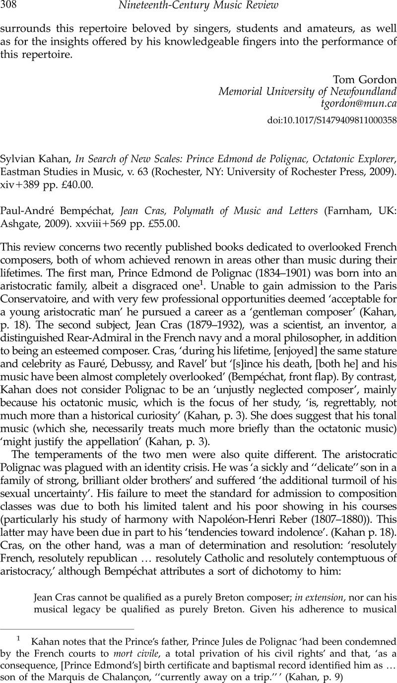Sylvian Kahan In Search Of New Scales Prince Edmond De Polignac