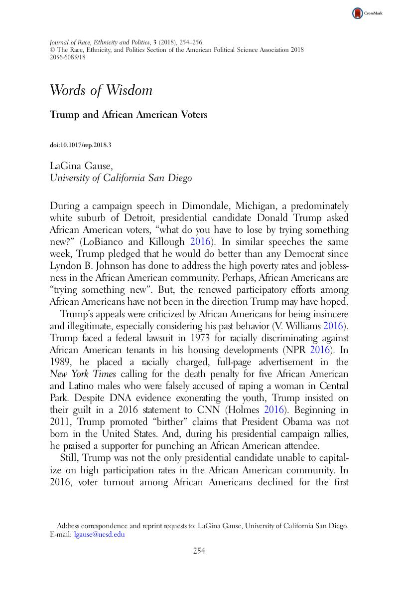 African american article