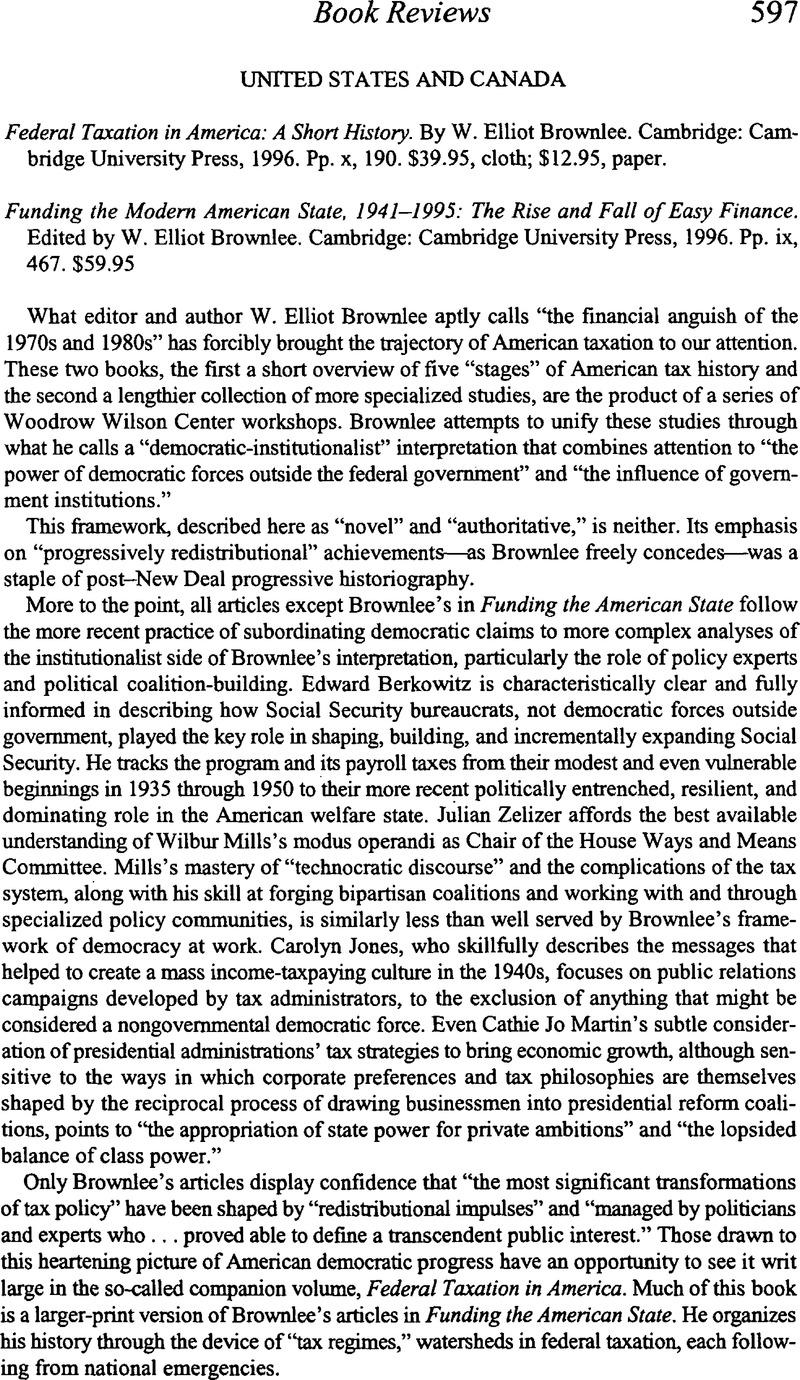 Copyright COPYRIGHT C The Economic History Association 1998