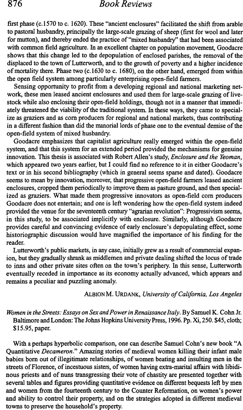 Essay in italy power renaissance sex