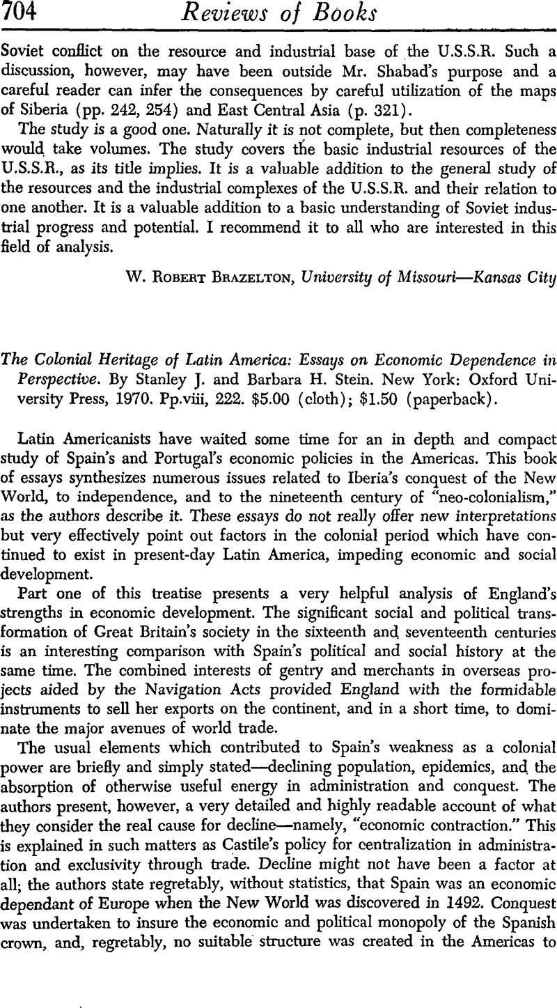 colonialism short essay